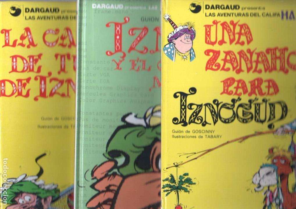 IZNOGUD NºS 1,6,14 - LAS AVENTURAS DEL CALIFA HARUN EL PUSSAH - 1977 - 1979 (Tebeos y Comics - Grijalbo - Iznogoud)