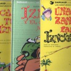 Cómics: IZNOGUD NºS 1,6,14 - LAS AVENTURAS DEL CALIFA HARUN EL PUSSAH - 1977 - 1979. Lote 71756035