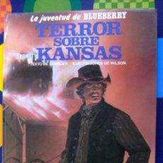 Cómics: LA JUVENTUD DE BLUEBERRY TERROR SOBRE KANSAS EDICIONES JUNIOR. Lote 71774523