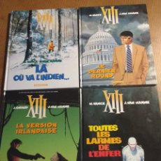 Cómics: XIII- VAN HAMME, VANCE, J. GIRAUD- LOTE DE 4 ALBUMES FRANCESES - DARGAUD. Lote 71898379