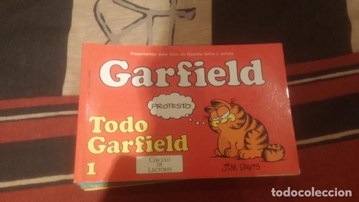 GARFIELD EDICCION PARA CIRCULO DE LECTORES TOMOS 1 AL 6 (Tebeos y Comics - Grijalbo - Otros)