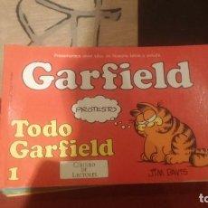 Cómics: GARFIELD EDICCION PARA CIRCULO DE LECTORES TOMOS 1 AL 6. Lote 71928783