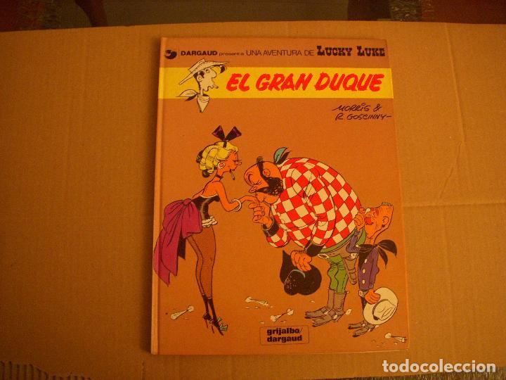 LUCKY LUKE Nº 3, TAPA DURA, EDITORIAL GRIJALBO (Tebeos y Comics - Grijalbo - Lucky Luke)