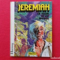 Comics: JEREMIAH Nº 1-LA NOCHE DE LOS RAPACES-HERMANN-TAPA DURA-C-16. Lote 72245095