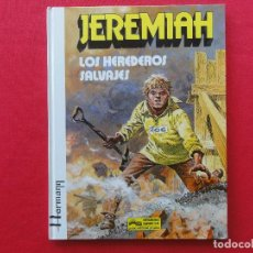 Comics: JEREMIAH Nº 3-LOS HEREDEROS SALVAJES-HERMANN-TAPA DURA-C-16. Lote 72250023