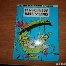 Cómics: LAS AVENTURAS DE SPIROU Y FANTASIO Nº 10 EL NIDO DE LOS MARSUPILAMIS EDICIONES GRIJALBO TAPA DURA. Lote 72439803