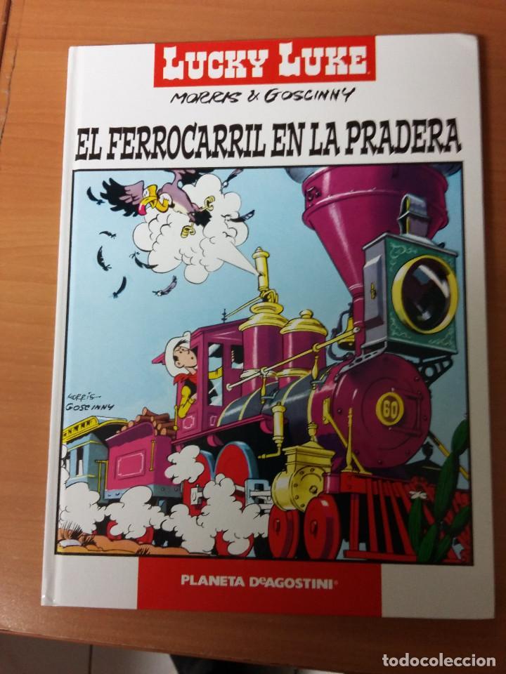 LUCKY LUKE EL FERROCARRIL EN LA PRADERA (TAPA DURA) (Tebeos y Comics - Grijalbo - Lucky Luke)