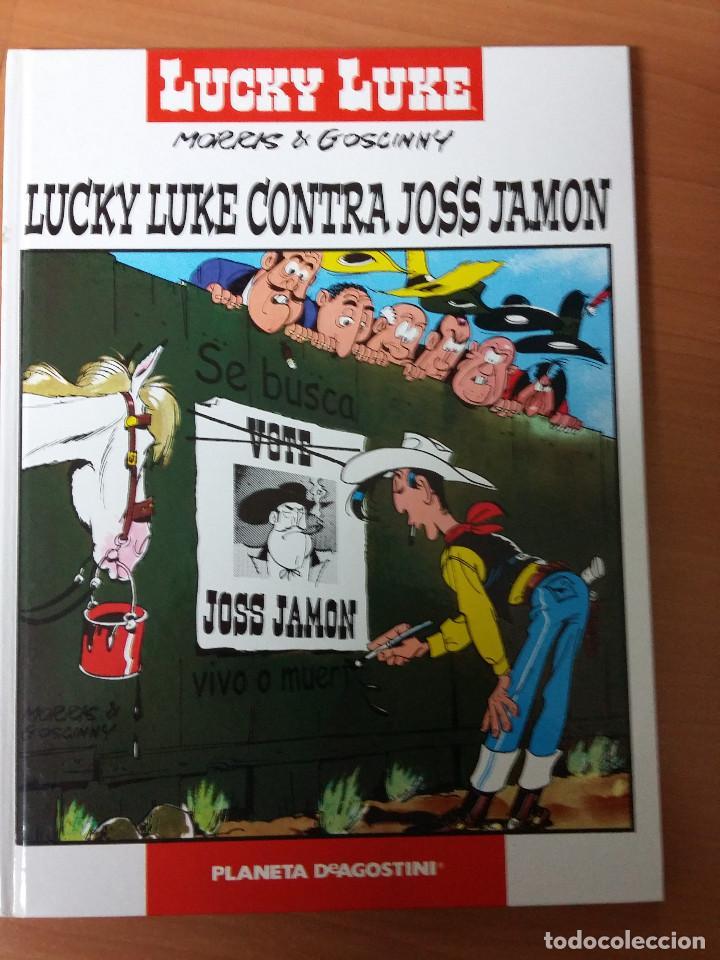 LUCKY LUKE CONTRA JOSS JAMON (TAPA DURA) (Tebeos y Comics - Grijalbo - Lucky Luke)