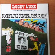 Cómics: LUCKY LUKE CONTRA JOSS JAMON (TAPA DURA). Lote 72692315