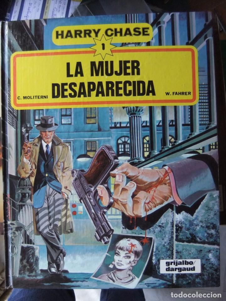 HARRY CHASE Nº 1 LA MUJER DESAPARECIDA GRIJALBO/DARGAUD (Tebeos y Comics - Grijalbo - Otros)