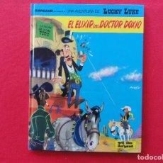 Cómics: LUCKY LUKE Nº 43. EL ELIXIR DEL DOCTOR DOXIO-MORRIS-GOSCINNY. TAPA DURA-C-16A. Lote 72810315