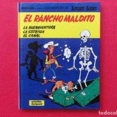 Cómics: LUCKY LUKE Nº 47. EL RANCHO MALDITO-MORRIS-GOSCINNY. TAPA DURA-C-16A. Lote 72810995