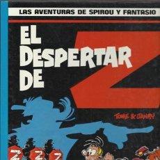 Cómics: LAS AVENTURAS DE SPIROU Y FANTASIO 23: EL DESPERTAR DE Z, 1990, MUY BUEN ESTADO.. Lote 73186791