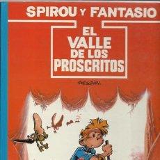 Cómics: SPIROU Y FANTASIO 27: EL VALLE DE LOS PROSCRITOS, 1991, MUY BUEN ESTADO. Lote 73197499