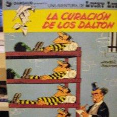 Cómics: LUCKY LUKE LA CURACION DE LOS DALTON 1979. Lote 73490519