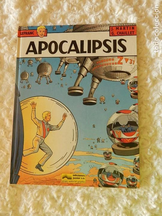 LEFRANC - APOCALIPSIS - N. 10 (Tebeos y Comics - Grijalbo - Lefranc)