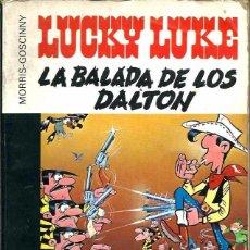 Cómics: MORRIS - LUCKY LUKE - LA BALADA DE LOS DALTON - GRIJALBO 1981 - COLECCION 16/22 Nº 7 - MUY DIFICIL. Lote 73554379