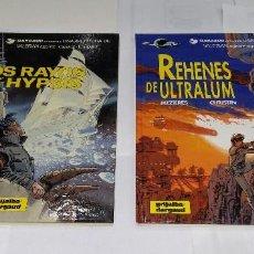 Cómics: VALERIAN. LOS RAYOS DE HYPSIS + REHENES DE ULTRALUM. NUEVOS. MEZIERES CHRISTIN. GRIJALBO. TAPA DURA. Lote 73607471