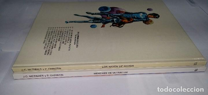 Cómics: VALERIAN. LOS RAYOS DE HYPSIS + REHENES DE ULTRALUM. NUEVOS. MEZIERES CHRISTIN. GRIJALBO. TAPA DURA - Foto 2 - 73607471