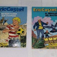 Cómics: ERIC CASTEL.13 15. AVENTURA EN TÚNEZ + EL MENSAJE DEL MALTÉS. NUEVOS. REDING/HUGUES. GRIJALBO.T.DURA. Lote 73608743