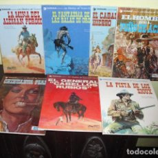 Cómics: EL TENIENTE BLUEBERRY - 7 EJEMPLARES - DEL Nº 1 AL Nº 7 - EDICIONES JUNIOR 1977 A 1980 -. Lote 73818403