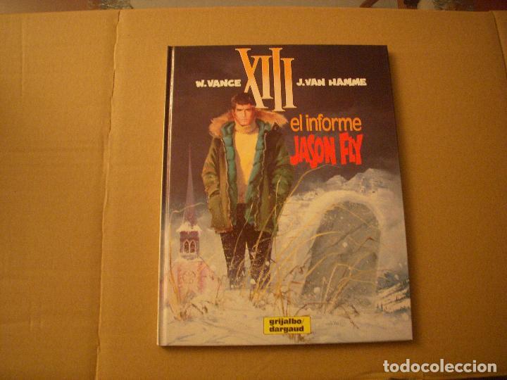 XIII Nº 6, TAPA DURA, EDITORIAL GRIJALBO (Tebeos y Comics - Grijalbo - XIII)