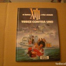 Cómics: XIII Nº 8, TAPA DURA, EDITORIAL NORMA. Lote 74185955