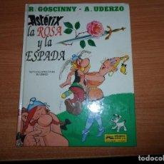 Cómics: ASTERIX Nº 29 ASTERIX LA ROSA Y LA ESPADA EDICIONES GRIJALBO TAPA DURA . Lote 74210759