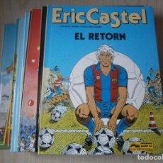 Cómics: LOTE DIEZ PRIMEROS NÚMEROS ERIC CASTEL. ÁLBUM TAPA DURA. CASTELLANO Y CATALÁN.GRIJALBO.. Lote 74348991