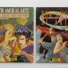 Cómics: POR AMOR AL ARTE Nº 1 Y 2 - LE TENDRE, REY, BEHE, PIERRE Y DANARD - GRIJALBO - TAPA DURA. Lote 75125331