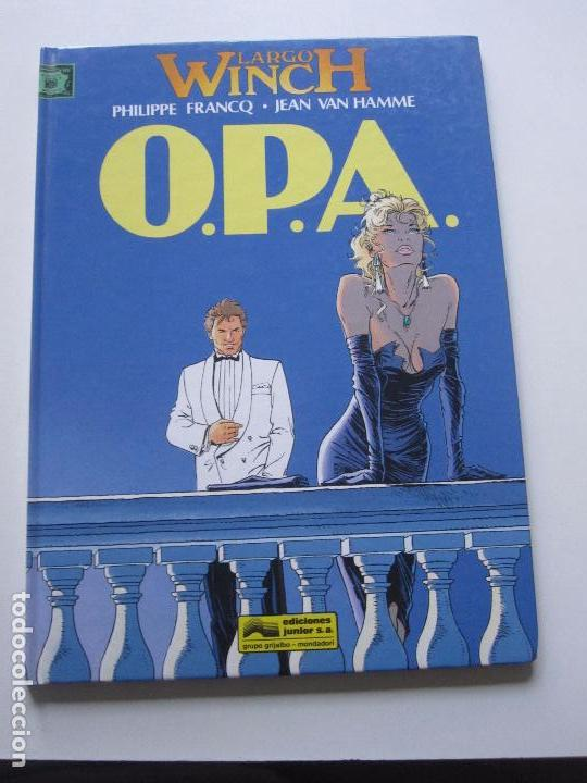 LARGO WINCH Nº 3: O.P.A., DE FRANCQ Y VAN HAMME ( GRIJALBO JUNIOR, 1993) BUEN ESTADO ETX (Tebeos y Comics - Grijalbo - Largo Winch)