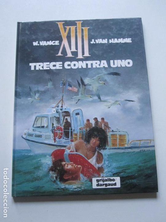 XIII Nº 8 - TRECE CONTRA UNO - VANCE & HAMME - GRIJALBO JUNIOR BUEN ESTADO ETX (Tebeos y Comics - Grijalbo - XIII)
