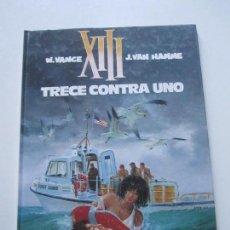 Cómics: XIII Nº 8 - TRECE CONTRA UNO - VANCE & HAMME - GRIJALBO JUNIOR BUEN ESTADO ETX. Lote 75498667
