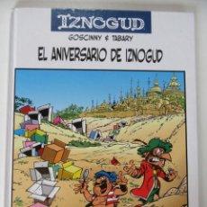 Cómics: IZNOGUD - Nº 19 EL ANIVERSARIO DE IZNOGUD - GOSCINY & TABARY - PLANETA - TAPA DURA -. Lote 75654043