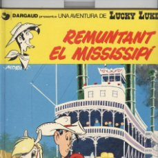 Cómics: LUCKY LUKE. Nº 9. REMUNTANT EL MISSISSIPI. GRIJALBO 1992. Lote 257378935