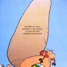 Cómics: ASTERIX TOMO GUAFLEX LUJO NUMERO TOMO 1 AÑO 1990. Lote 76069687