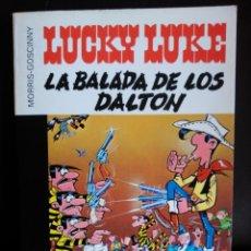 Cómics: LUCKY LUKE. LA BALADA DE LOS DALTON. GRIJALBO 16/22. Lote 76915035