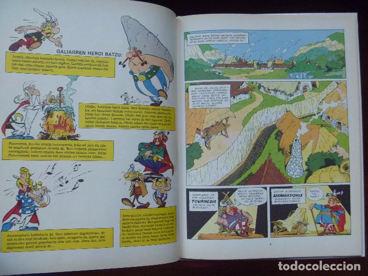 Cómics: Asterix euskera ZANGA HANDIA tapas duras nuevo Grijalbo - Foto 6 - 268603019