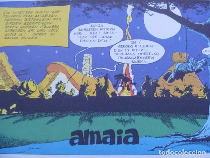 Cómics: Asterix euskera ZANGA HANDIA tapas duras nuevo Grijalbo - Foto 9 - 268603019