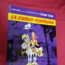 Comics : LUCKY LUKE. Nº 38. LA CIUDAD FANTASMA. GRIJALBO. 1989.. Lote 77362157