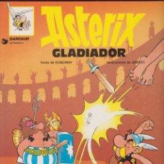 Cómics: ASTERIX GLADIADOR GOSCINNY UDERZO EDITORIAL GRIJALBO BARCELONA AÑO 1968*. Lote 77717113