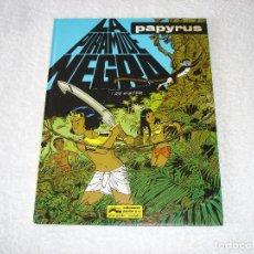 Comics : PAPYRUS: Nº10 LA PIRAMIDE NEGRA (DE GIETER) - 1991, GRIJALBO. Lote 78037245