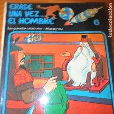 Cómics - ERASE UNA VEZ... EL HOMBRE Nº 6 - LAS GRANDES CATEDRALES/ MARCO POLO - ALBUM RUSTICA ED. JUNIOR GRIJ - 78870993