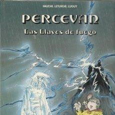 Cómics: PERCEVAN 6: LAS LLAVES DE FUEGO,1988, MUY BUEN ESTADO. Lote 78899329