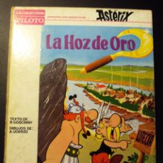 Cómics: ASTERIX 1966 EDITORIAL MOLINO TAPAS DURAS LA HOZ DE ORO. RARO. Lote 78919433