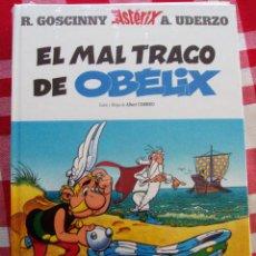 Cómics: ASTERIX COMIC EDITADO CIRCULO LECTORES TAPA DURA SIN NUMERO LOMO. EL MAL TRAGO DE OBELIX. Lote 78920357