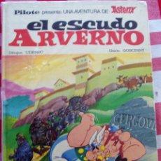Cómics: COMIC ASTERIX EL ESCUDO ARVERNO EDITORIAL PILOTE EDIC BRUGUERA. Lote 78920889