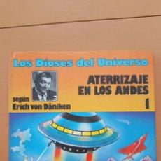 Cómics: LOS DIOSES DEL UNIVERSO ATERRIZAJE EN LOS ANDES NÚMERO 1 GRIJALBO. Lote 150661326