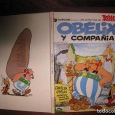 Cómics: ASTERIX. OBELIX Y COMPAÑIA. GOSCINNY - UDERZO. EDICIONES JUNIOR. 1978.. Lote 79116057