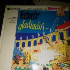 Cómics: ASTÉRIX GLADIADOR TAPA DURA DEPÓSITO LEGAL 1079. Lote 79169081